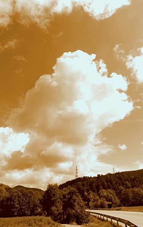 Las nubes y la inocencia