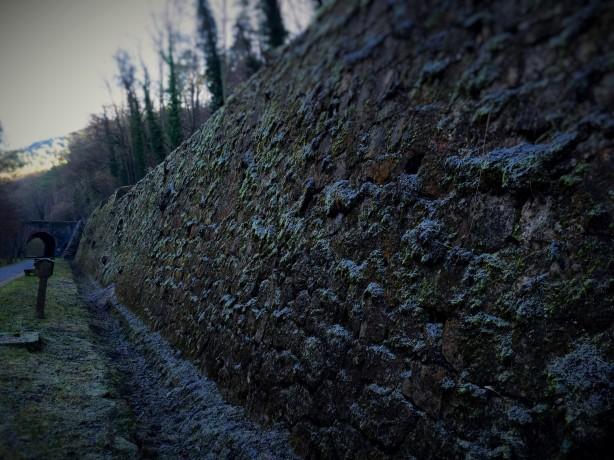 Milenarias piedras viejo muro