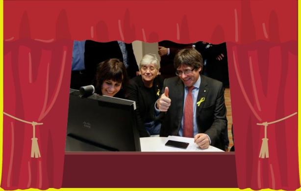 De verdad un presidente Puigdemont telemático