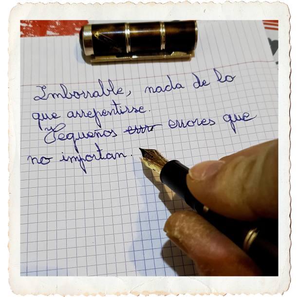 Escribir a mano peq